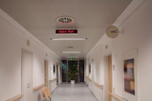 Uhrenanlage Krankenhaus