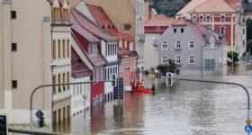 Wassermelder alarmieren zuverlässig bei Überschwemmungen